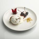 Cocoa swirl meringue dessert by Eatertainment
