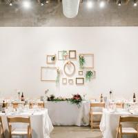One Gallery wedding reception