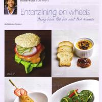Homefront Magazine Entertaining on Wheels
