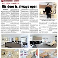 Toronto Sun: Celebrity Spaces
