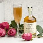 Dillon's Rose Gin Sparkler