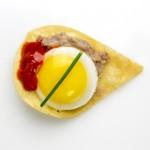 Huevos_ServedonCornChip